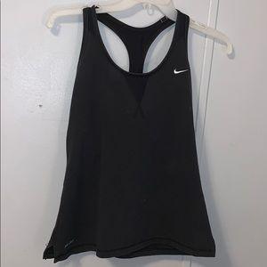 Dri Fit Nike built in sports bra tank top!